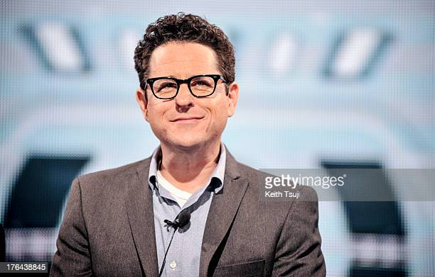 Director JJ Abrams attends the Star Trek Into Darkness Live Streaming in Tokyo at the Nicofarre on August 13 2013 in Tokyo Japan