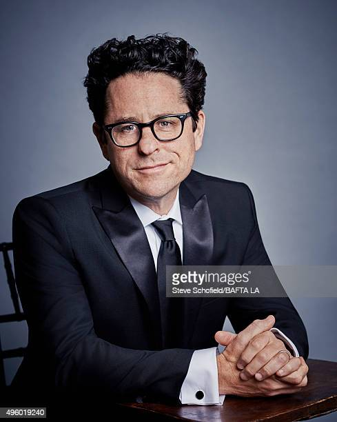 Director JJ Abrams poses for a portrait at the 2015 BAFTA Britannia Awards Portraits on October 30 2015 at the Beverly Hilton Hotel in Beverly Hills...