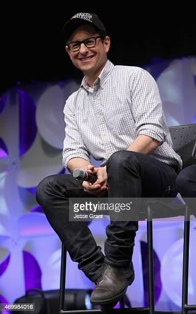 Director JJ Abrams speaks onstage during Star Wars Celebration 2015 on April 16 2015 in Anaheim California