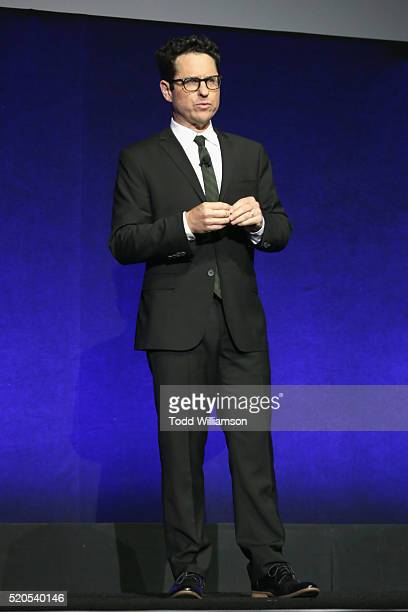 Director J.J. Abrams speaks onstage during the CinemaCon 2016 Gala Opening Night Event: Paramount Pictures Highlights its 2016 Summer and Beyond...