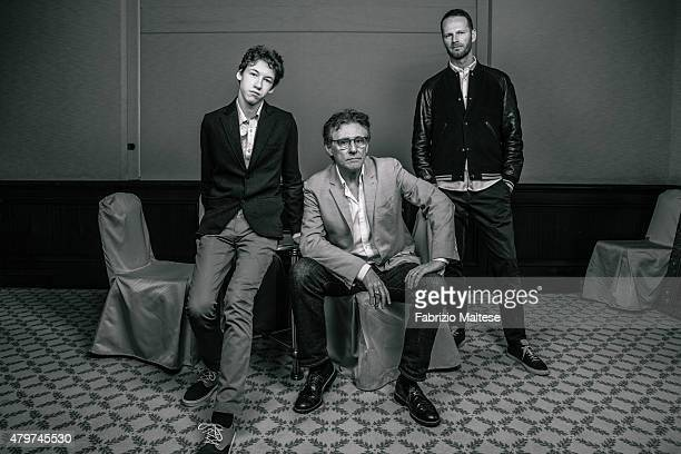 Director Joachim Trier and actors Devin Druid and Gabriel Byrne are photographed for The Hollywood Reporter on May 15 2015 in Cannes France
