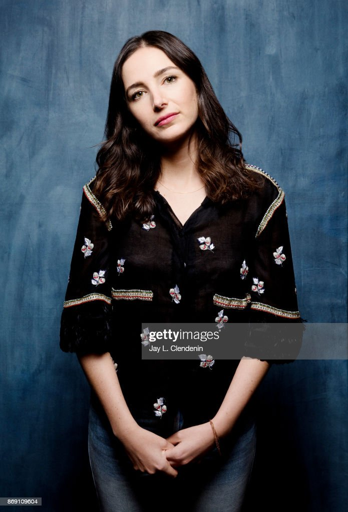 Director Joan Chemla from the film, 'If You Saw His Heart,' poses for a portrait at the 2017 Toronto International Film Festival for Los Angeles Times on September 12, 2017 in Toronto, Ontario.