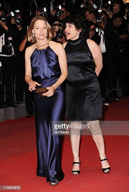 Director Jodie Foster attends the Melancholia premiere during the 64th Annual Cannes Film Festival at Palais des Festivals on May 18 2011 in Cannes...
