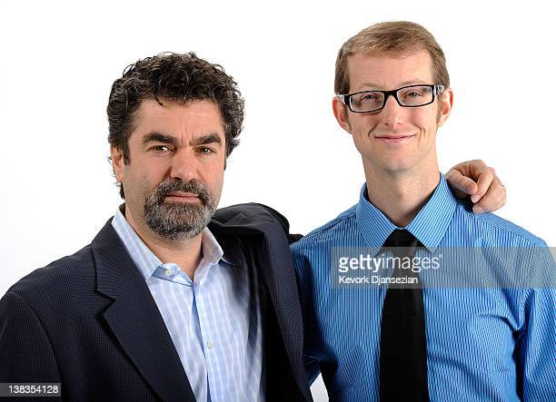 Director Joe Berlinger and actor Jason Baldwin pose for a portrait during the 84th Academy Awards Nominations Luncheon at The Beverly Hilton hotel on...