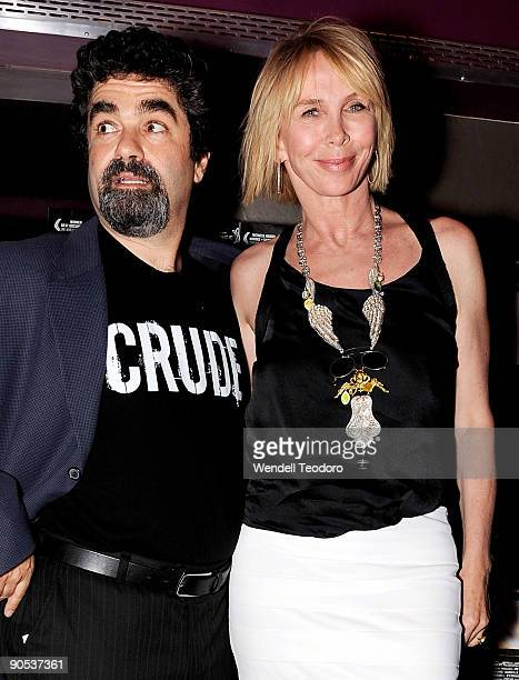 Director Joe Berlinger and Truie Styler attend the New York premiere of Crude at the IFC Center on September 9 2009 in New York City