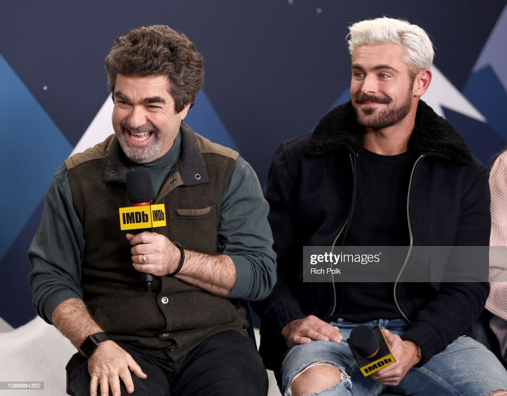 Director Joe Berlinger And Zac Efron Of Extremely Wicked