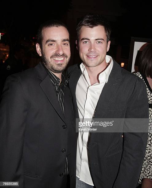 Director Joe Nussbaum and actor Matt Long pose at the premiere of Universal Pictures and Morgan Creek Production's Sydney White at the Mann Bruin...