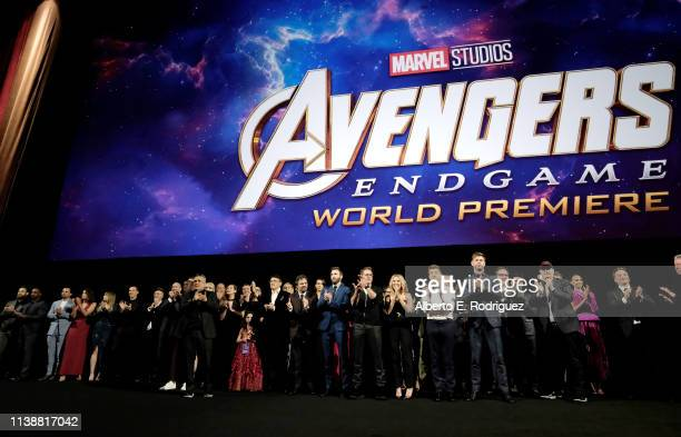 Director Joe Russo Anthony Russo Mark Ruffalo Chris Evans Robert Downey Jr Scarlett Johansson Jeremy Renner Chris Hemsworth Executive producer Jon...