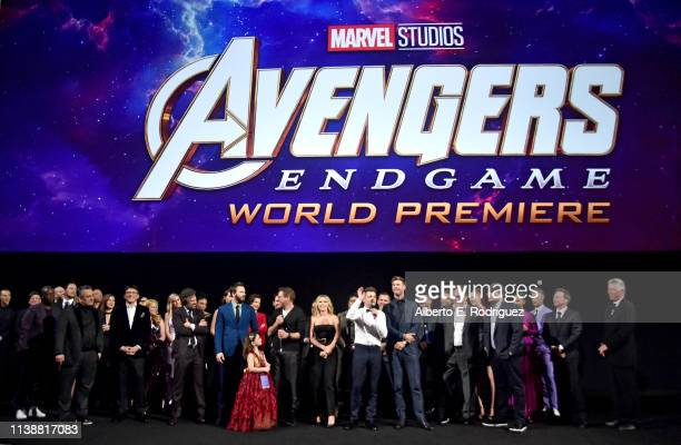 Director Joe Russo Director Anthony Russo Mark Ruffalo Chris Evans Robert Downey Jr Scarlett Johansson Jeremy Renner Chris Hemsworth Executive...