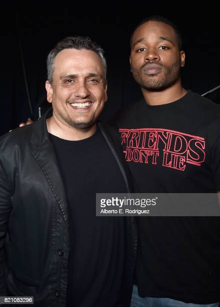 Director Joe Russo from Marvel Studios' 'Avengers Infinity War' and director Ryan Coogler from Marvel Studios' 'Black Panther' at the San Diego...