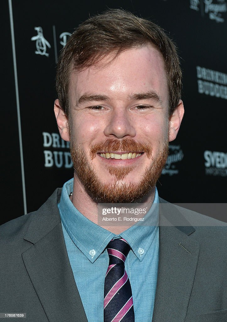Director Joe Swanberg arrives for the screening of Magnolia Pictures' 'Drinking Buddies' at ArcLight Cinemas on August 15, 2013 in Hollywood, California.