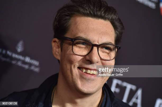 Director Joe Wright arrives at The BAFTA Los Angeles Tea Party at Four Seasons Hotel Los Angeles at Beverly Hills on January 6 2018 in Los Angeles...