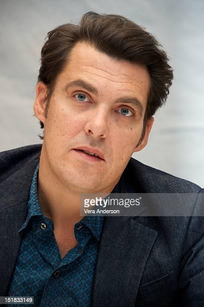 Director Joe Wright at the Anna Karenina Press Conference at the Park Hyatt on September 9 2012 in Toronto Ontario