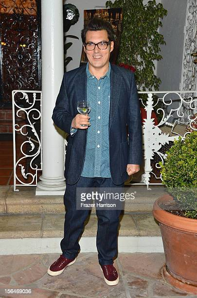 Director Joe Wright attends a reception honoring Keira Knightly at British Consulate LA with Focus Features and British Film Commission on November...