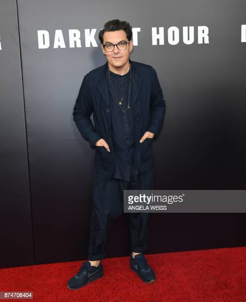 Director Joe Wright attends Focus Features' 'Darkest Hour' New York premiere at The Paris Theatre on November 15 2017 in New York / AFP PHOTO /...