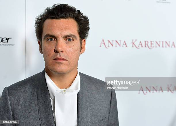 Director Joe Wright attends the premiere of Focus Features' 'Anna Karenina' held at ArcLight Cinemas on November 14 2012 in Hollywood California