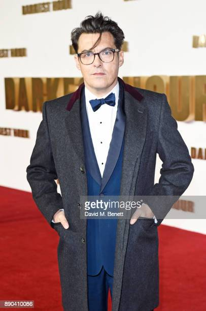 Director Joe Wright attends the UK Premiere of Darkest Hour at Odeon Leicester Square on December 11 2017 in London England