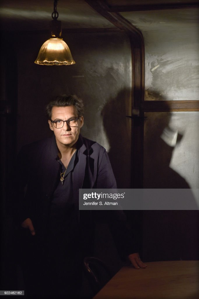 Director Joe Wright is photographed for Los Angeles Times on October 11, 2017 in New York City.