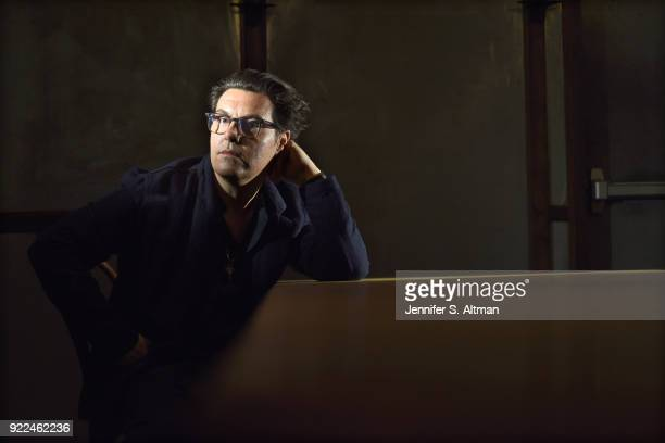 Director Joe Wright is photographed for Los Angeles Times on October 11 2017 in New York City