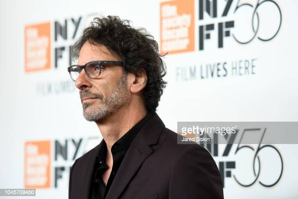 Director Joel Coen attends the Netflix's The Ballad of Buster Scruggs NYFF Red Carpet Premiere at Alice Tully Hall on October 4 2018 in New York City