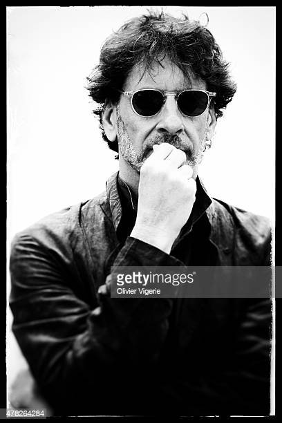 Director Joel Coen is photographed on May 15 2015 in Cannes France