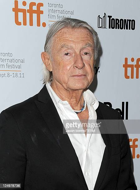 Director Joel Schumacher arrives at Trespass Premiere at Roy Thomson Hall during the 2011 Toronto International Film Festival on September 14 2011 in...