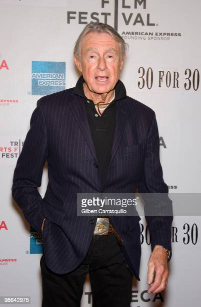 Director Joel Schumacher attends the Straight Outta LA premiere at Tribeca Performing Arts Center on April 23 2010 in New York New York