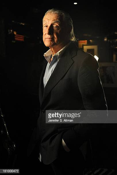 Director Joel Schumacher is photographed for Los Angeles Times on August 1 2012 in New York City