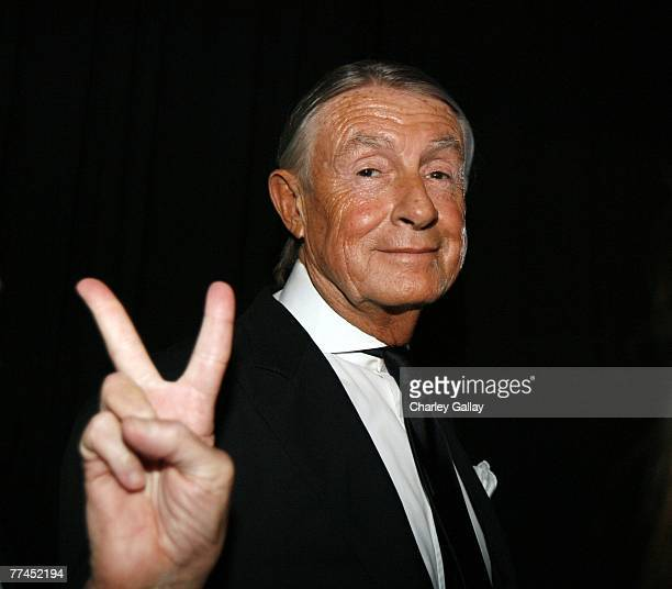 Director Joel Schumacher poses backstage during the 11th Annual Hollywood Awards held at the Beverly Hilton Hotel on October 22 2007 in Los Angeles...