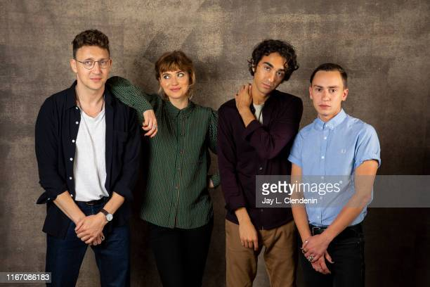 Director Joey Klein, actors Imogen Poots, Alex Wolff and Keir Gilchrist from 'Castle in the Ground' are photographed for Los Angeles Times on...