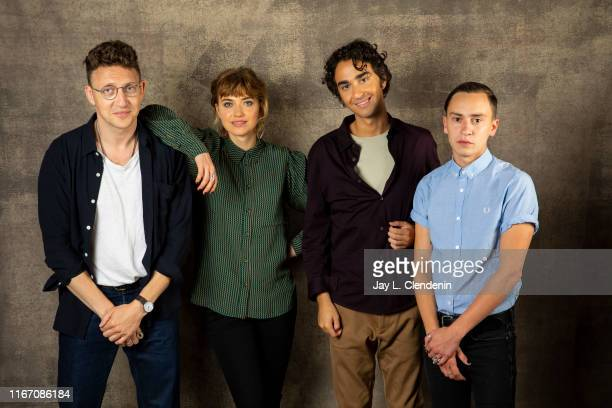 Director Joey Klein actors Imogen Poots Alex Wolff and Keir Gilchrist from 'Castle in the Ground' are photographed for Los Angeles Times on September...