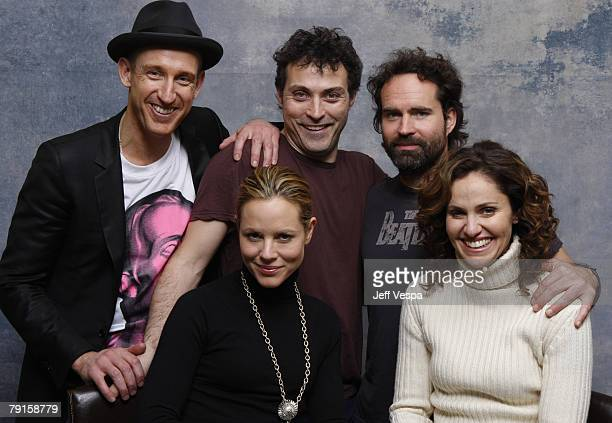 Director Johan Renk Actor Rufus Sewell Actress Maria Bello Actor Jason Patrick and Actress Amy Brenneman at the Sky 360 by Delta Lounge WireImage...