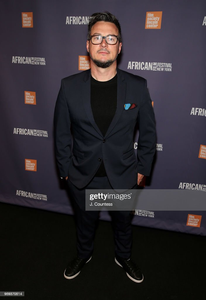 Director John Barker attends the opening night of the 25th African Film Festival at Walter Reade Theater on May 16, 2018 in New York City.