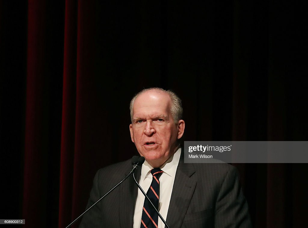 CIA Director John Brennan Speaks On National Security At George Washington University