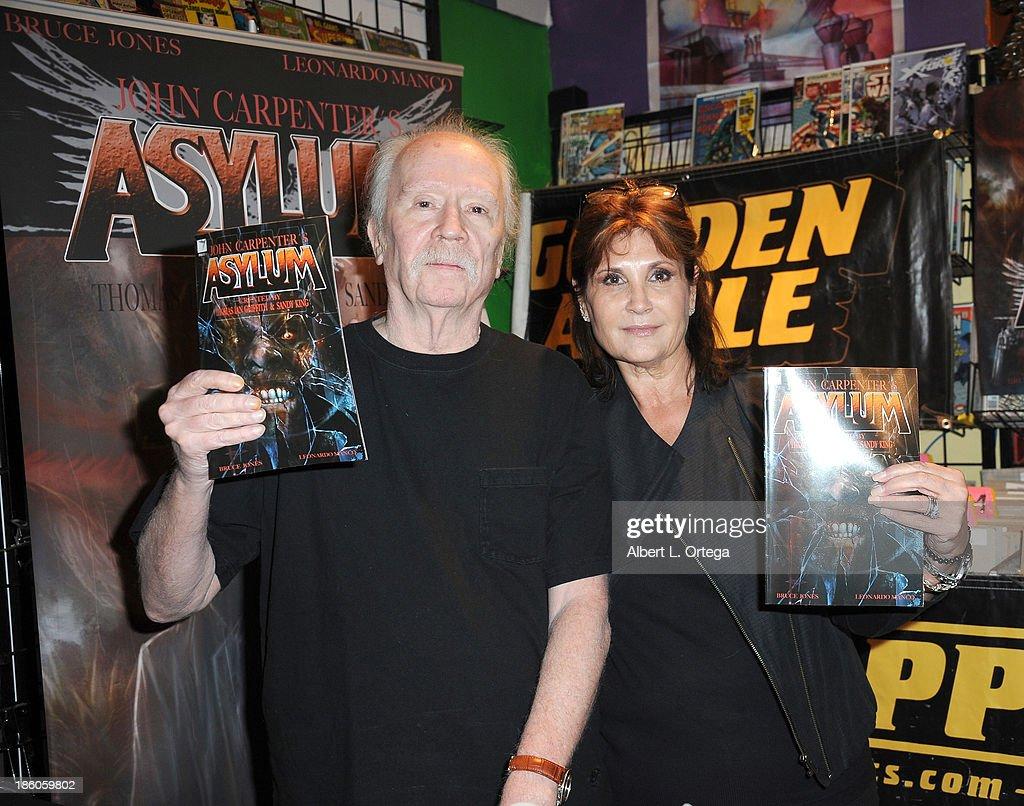 """John Carpenter Comic Book Signing For """"Asylum"""""""