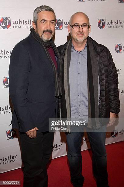 Director John Cassar and Producer Bill Marks attend the 2015 Whistler Film Festival screening of 'Forsaken' at the Whistler Conference Center in...