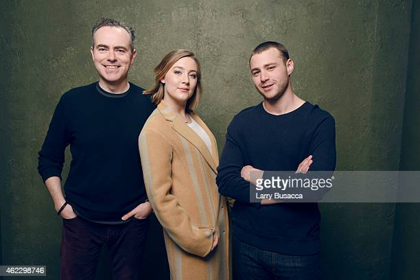 Director John Crowley actress Saoirse Ronan and actor Emory Cohen of Brooklyn pose for a portrait at the Village at the Lift Presented by McDonald's...