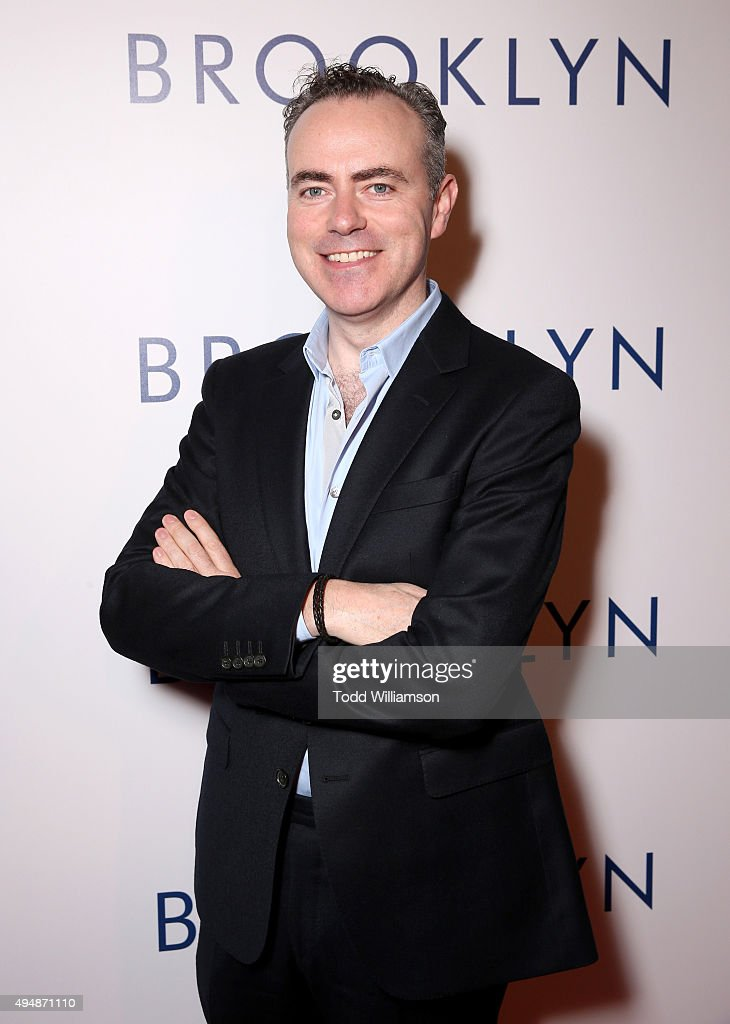 Director John Crowley arrives at the Los Angeles premiere of Fox Searchlight's 'Brooklyn' at the Harmony Gold Theatre on October 29, 2015 in Los Angeles, California.