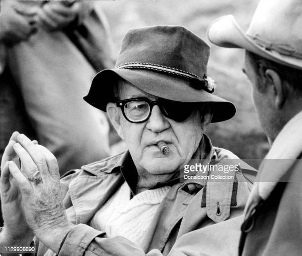 Director John Ford on set in 1960