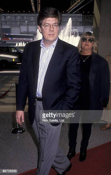 Director John Hughes and wife Nancy Ludwig attend the premiere of Home Alone 2Lost In New York on November 15 1992 at the United Artists Theater in...