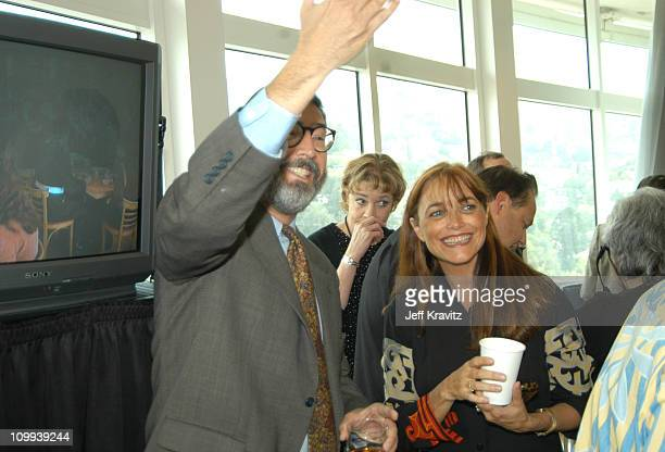 Director John Landis and Karen Allen during Animal House 25th Anniversary Ultimate Homecoming Parade DVD Release Extravaganza at Hollywood Boulevard...