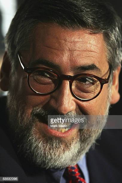 Director John Landis attends the Hollywood's Master Storytellers 25th Anniversary DVD Release Of The Blues Brothers on August 29 2005 at Mann Chinese...
