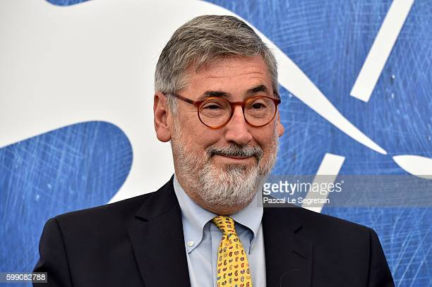 Director John Landis attends the photocall of 'An American Werewolf in London' during the 73rd Venice Film Festival at Sala Darsena on September 4...