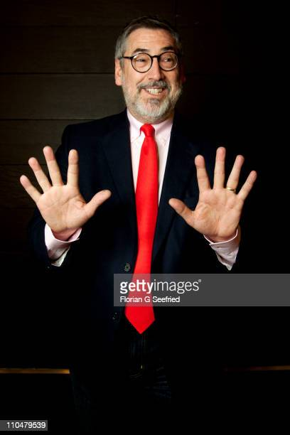 Director John Landis poses for a picture at a portrait session at CineStar on March 19, 2011 in Berlin, Germany.