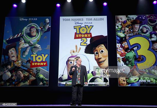 Director John Lasseter of TOY STORY 4 took part today in Pixar and Walt Disney Animation Studios The Upcoming Films presentation at Disney's D23 EXPO...