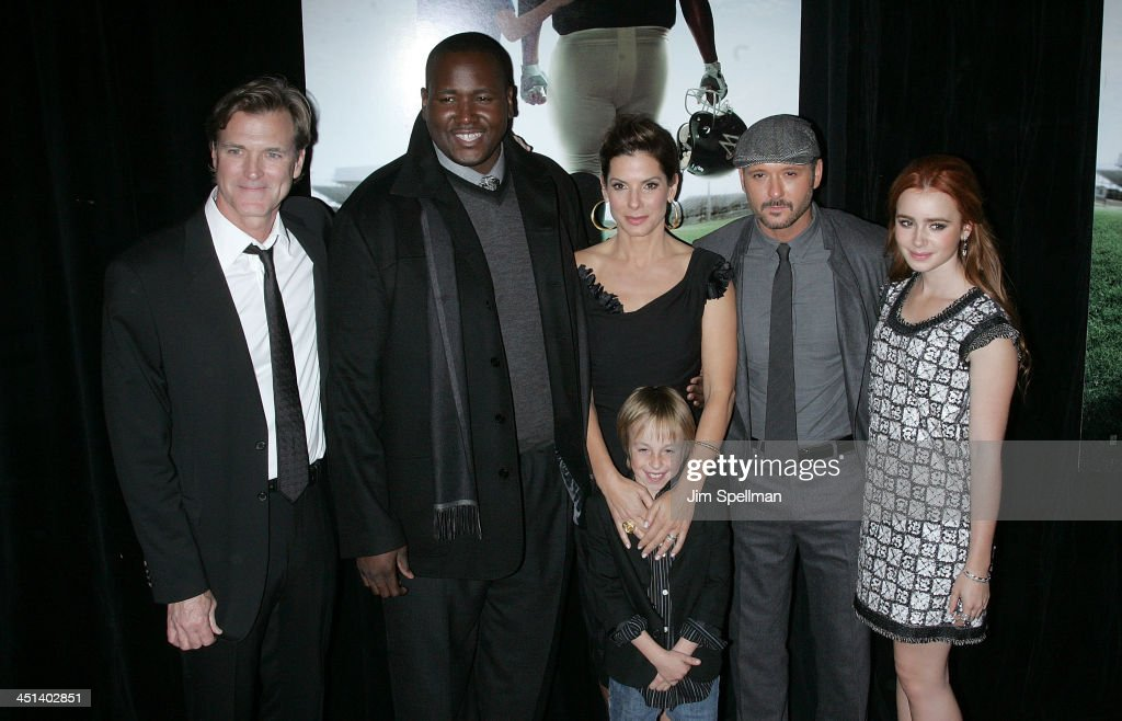 The Blind Side New York Premiere - Arrivals : News Photo