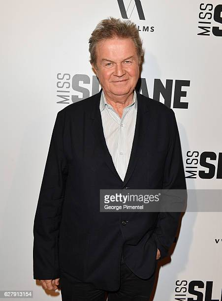 Director John Madden attends Miss Sloane Toronto Premiere held at Isabel Bader Theatre on December 5 2016 in Toronto Canada