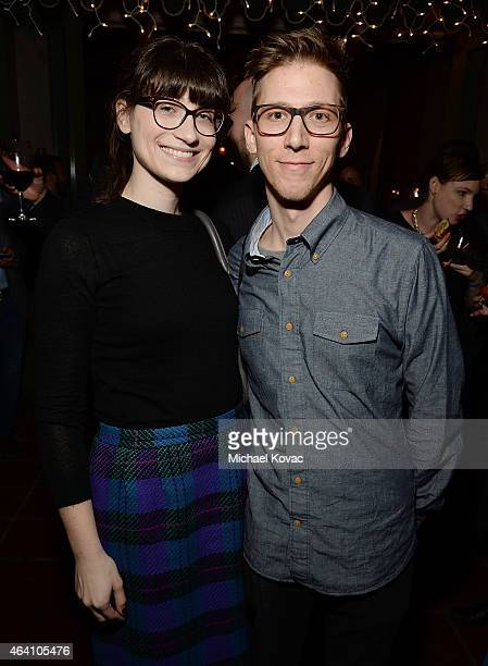 Director John Maloof and Drew Maloof attend the AMC Networks and IFC Films Spirit Awards After Party on February 21 2015 in Santa Monica California