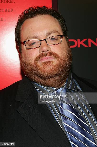 """Director John Moore arrives at a screening of """"The Omen"""" presented by the Cinema Society and DKNY Jeans at the Angel Orensanz Foundation May 31, 2006..."""