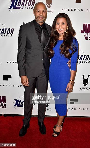 Director John Ridley and Gayle Ridley arrive at the Screening Of Jimi All Is By My Side at ArcLight Cinemas on September 22 2014 in Hollywood...